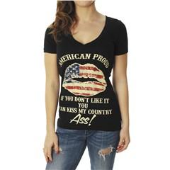 American Proud Women's V-Neck