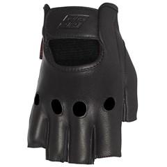Half Nelson Fingerless Leather Gloves