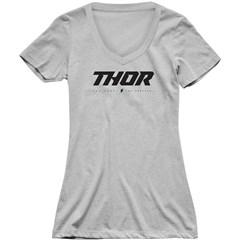 Loud V-Neck Womens T-Shirt