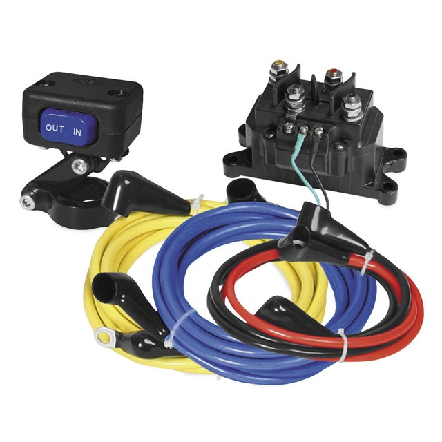 12 volt winch wiring harness universal 12-volt wiring kit | cheap cycle parts