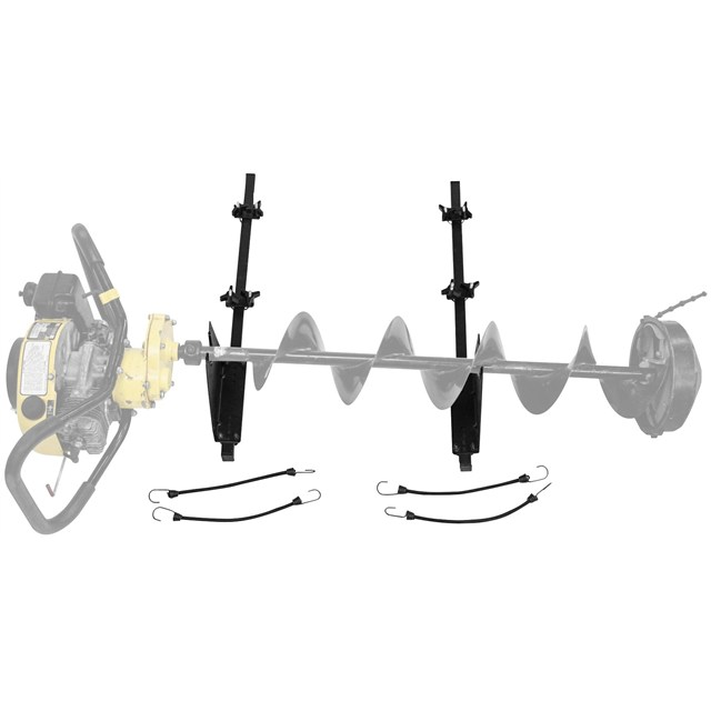 ATV Ice Auger Holder | PartsFish com