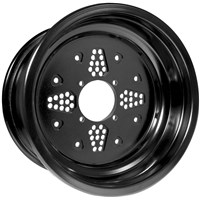 "12"" Rok Out Double Rolled Utility Wheels"