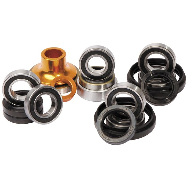 All Balls Front Wheel Bearings /& Seals Kit For Kawasaki KX 80 1998 98 Motocross