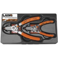 2-Piece Retaining Ring Pliers Set
