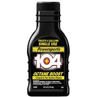104+ Octane Boost and Complete Fuel System Cleaner