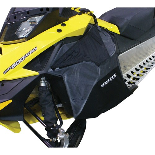 Aluminum Frame, Fabric Mesh Performance Side Panels for Ski-Doo