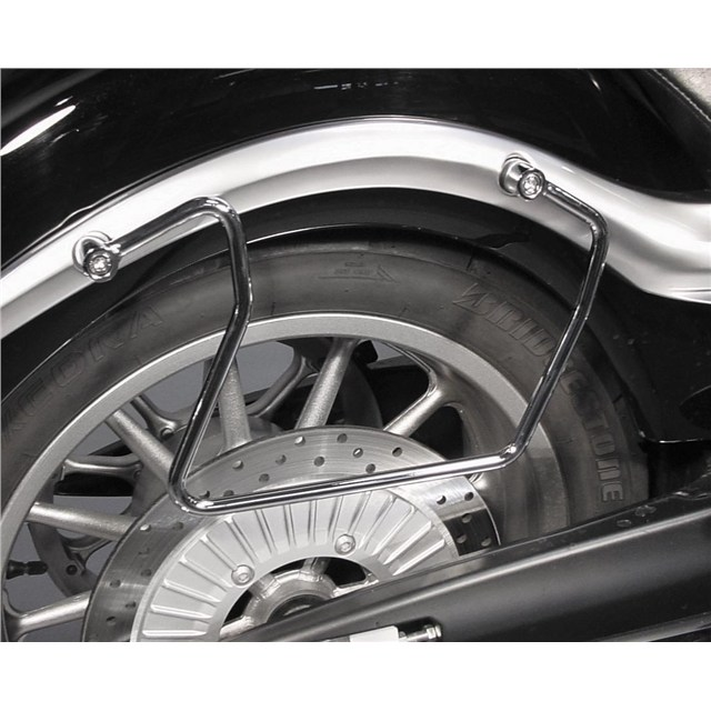 Chrome Saddlebag Guards for Yamaha