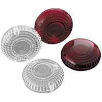 Clear and Red Replacement Turn Signal Lenses