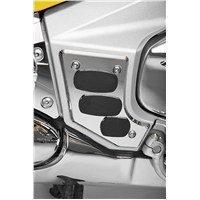 Chrome and Rubber Swingarm Covers