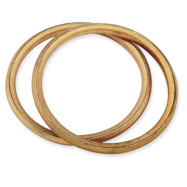 Round copper exhaust gaskets victory parts pro