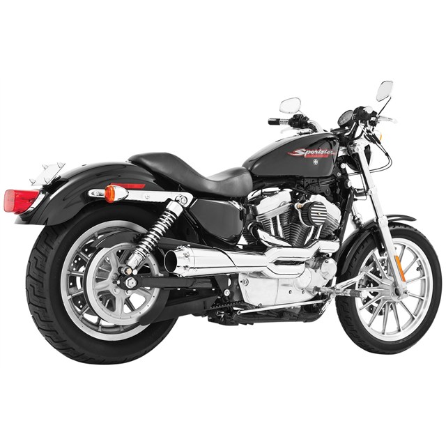 American Outlaw High 2 Into 1 For Sportster Models Babbitts
