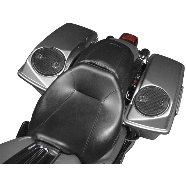 Saddlebag Lids With J&M Rokker Speakers