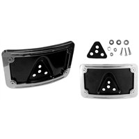 2-Piece Curved License Plate Frame