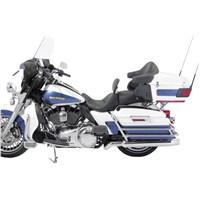 1-Piece Lowdown Touring Seat with Driver Backrest - No Studs