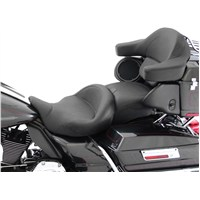 1-Piece Super Touring Seat With Receiver