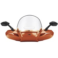 Windpro Windshield Painted - Sunset Orange