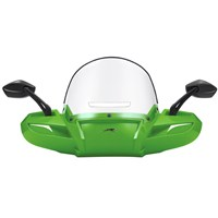 Windpro Windshield Painted - Green Metallic
