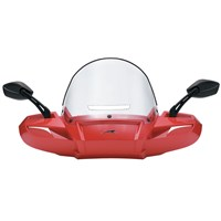 Windpro Windshield - Red