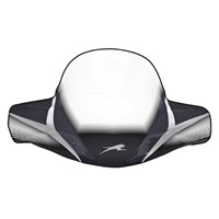 WINDSHIELD-WINDGUARD, BLACK