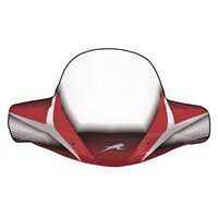 WindGuard Windshield - Red