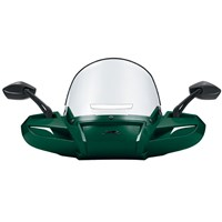 Windpro Windshield Painted - Emerald Green Metallic