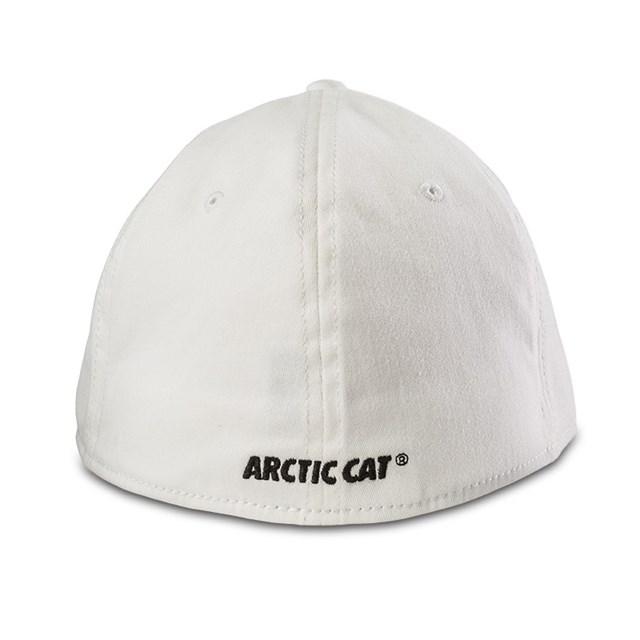 Aircat Brushed Cap White - Small/Medium