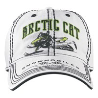 Arctic Cat White Cap