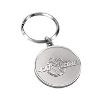 2 Sided Keychain - Cat to the Core