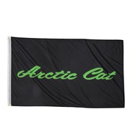 Arctic Cat Flag Black/Lime