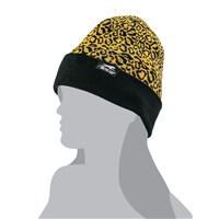 Leopard Black/Gold Beanie Black/Gold