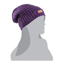 Sparkle Slouchy Beanie Purple