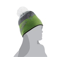 Arctic Cat Stripe w/Pom Beanie Lime