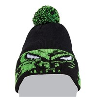 Youth Team Arctic Eyes Beanie Black/Lime