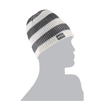 Arctic Cat Stripes Beanie White/Gray