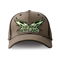 Team Arctic Flag Performance Cap Gray - Small/Medium