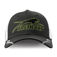 Aircat Performance w/Jersey Mesh Cap Gray/White - Small/Medium