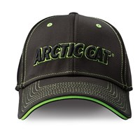 Contrast Stitch Performance Cap Black/Lime - Large/X-Large