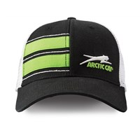Aircat Stripe w/Mesh Cap Black/Lime