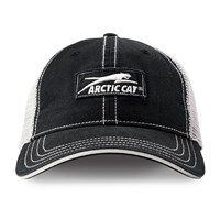 Aircat Black/White w/Mesh Cap Black/White