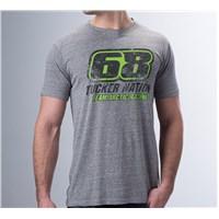 68 Tucker Nation T-Shirt Gray