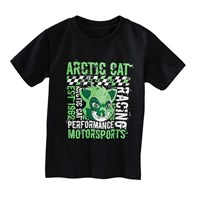 Arctic Cat Motorsports T-Shirt Black/Lime
