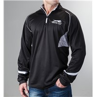 Aircat Storm 1/4-Zip Shirt Black