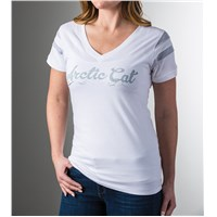 Arc tic Cat T-Shirt White - Small