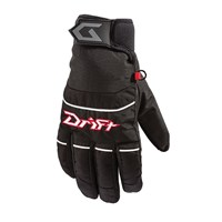 Drift Low-Cuff Gloves Black