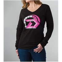Drift RPM Long Sleeve T-Shirt Black/Pink