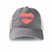 Arctic Cat Heart w/ Mesh Cap