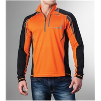 Aircat 1/2-Zip Long-Sleeve Shirt Orange