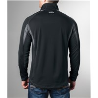Aircat 1/2-Zip Long-Sleeve Shirt Black