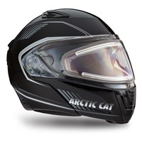 Arctic Cat Modular Helmet with Electric Shield Black