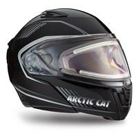 Arctic Cat Modular Helmet with Electric Shield Black